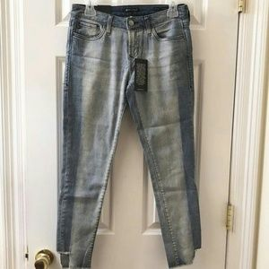 Dear john 2tone denim capris